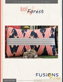 Buck Forest Pillow by AGF Studio Instructions