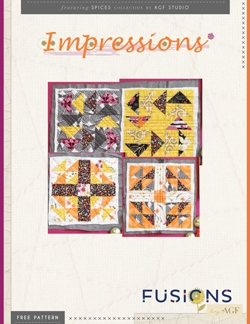 Impressions Quilt Blocks by AGF Studio