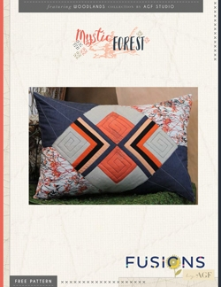 Mystic Forest Pillow by AGF Studio