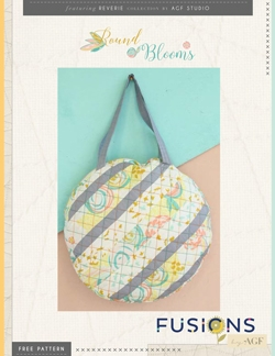Round Blooms Bag by AGF Studio