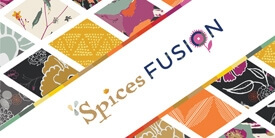 Fusions Spices Fabric Collection by AGF Studio