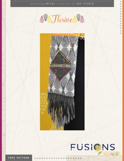 Thrive Cross Body Bag by AGF Studio Instructions
