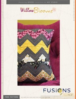Willow Blooms Pillow by AGF Studio