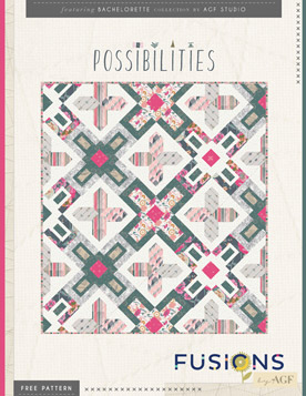 Possibilities Quilt by AGF Studio