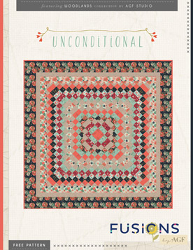 unconditional quilt by agf studio - Quilting Templates Free