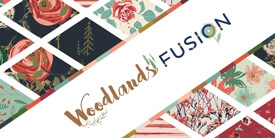 Fusion Woodlands Fabric Collection by AGF Studio