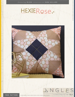 Hexie Rose Pillow by AGF Studio Instructions
