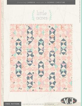 Little Acres Quilt by Bonnie Christine