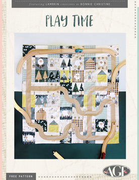 Play Time Quilt by AGF Studio