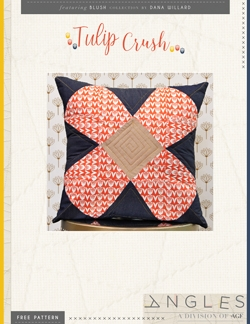 Tulip Crush Pillow by AGF Studio Instructions