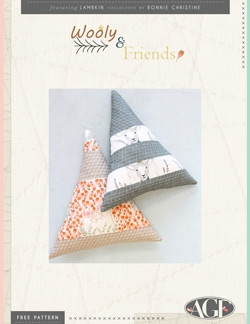Wooly & Friends Pillows Instructions by AGF Studio