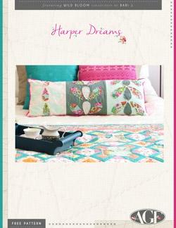 Harper Dreams Pillow by AGF Studio