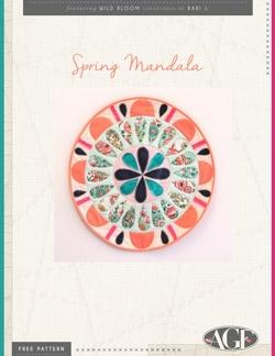 Spring Mandala Wall Art by AGF Studio