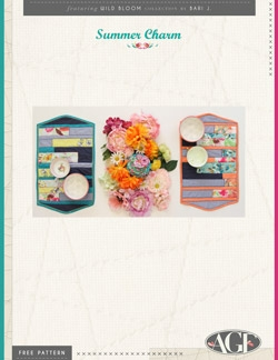 Summer Charm Placemats by AGF Studio