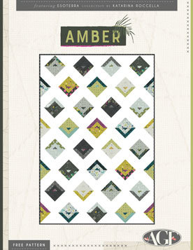 Amber Free Quilt Patterns by Katarina Roccella