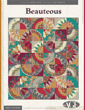 Beauteous Free Quilt Patterns by AGF Studio