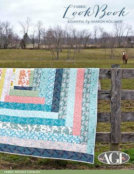 Bountiful Fabric Lookbook by Sharon Holland