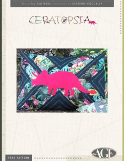 Ceratopsia Pillow by AGF Studio