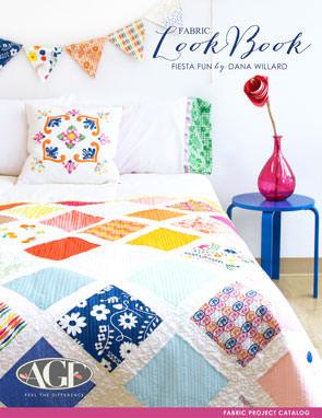 Fiesta Fun Fabric Project Catalog by Dana Willard