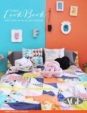 Here Comes the Fun Lookbook by Sew Caroline Fabric Project Catalog