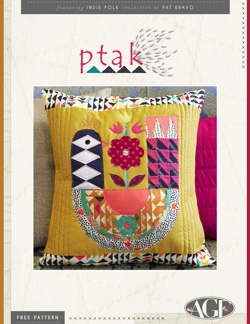 Ptak Pillow by AGF Studio