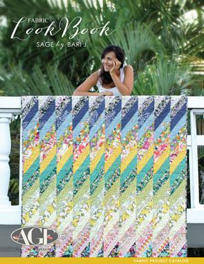 Sage Lookbook by Bari J. Fabric Project Catalog