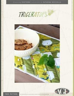 Triceratops Placemats by AGF Studio