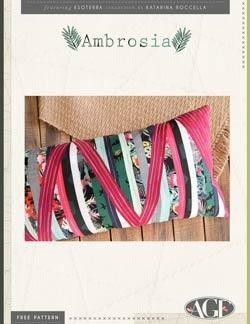 Ambrosia Pillow by AGF Studio Instructions