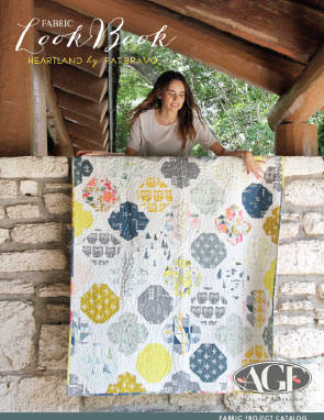 Heartland Fabric Lookbook by Pat Bravo Fabric Project Catalog