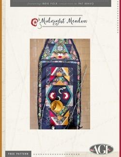 Midnight Meadow Tablerunner by AGF Studio