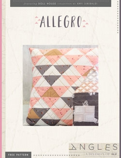 Allegro Pillow by AGF Studio Instructions