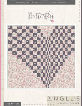 Butterfly Quilt Pattern by AGF Studio