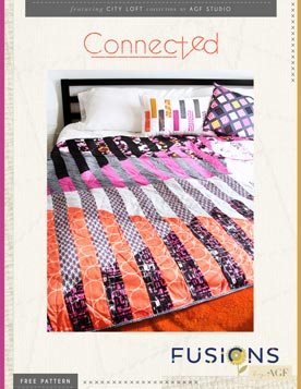 Connected Quilt Pattern by AGF Studio