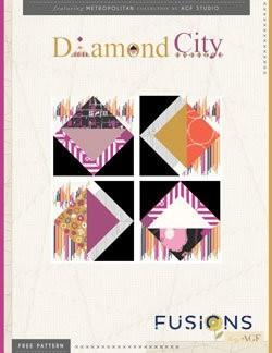 Diamond City Quilt Block by AGF Studio Instructions