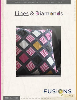 Lines & Diamonds by AGF Studio Instructions