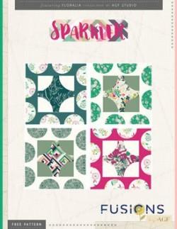 Sparkler Quilt Blocks by AGF Studio Pattern