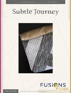Subtle Journey Bucket Bag by AGF Studio Instructions