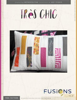 Tres Chic Pillow by AGF Studio Instructions