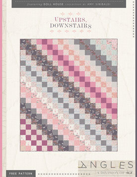 Upstairs Downstairs Quilt Pattern by AGF Studio