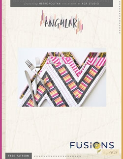 Angular Placemats by AGF Studio Instructions