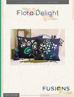 Flora Delight Pillows by AGF Studio Instructions