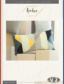 Archer Pillow by AGF Studio Instructions