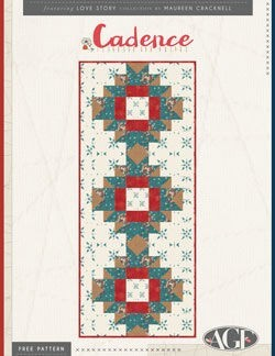 Cadence Tablerunner Instructions by AGF Studio