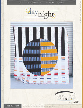 Day Night Quilt Pattern by AGF Studio