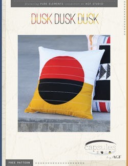 Dusk Pillow by AGF Studio