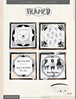 Framed Quilt Block by AGF Studio instructions