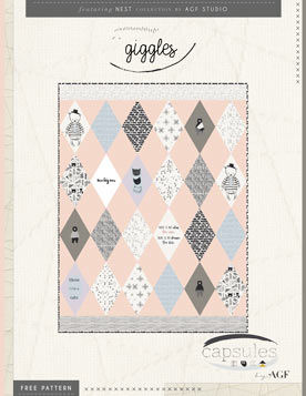 Giggles Quilt Pattern by AGF Studio
