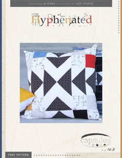 Hyphenated Pillow by AGF Studio