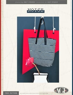 Noise Tote by AGF Studio instructions