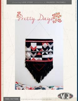 Pretty Dayz Tapestry Instructions by AGF Studio